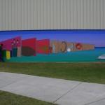 10' x 100' Mural at Eastman YDC
