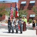 Unveiling Ceremony Flags