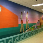 Mural complete