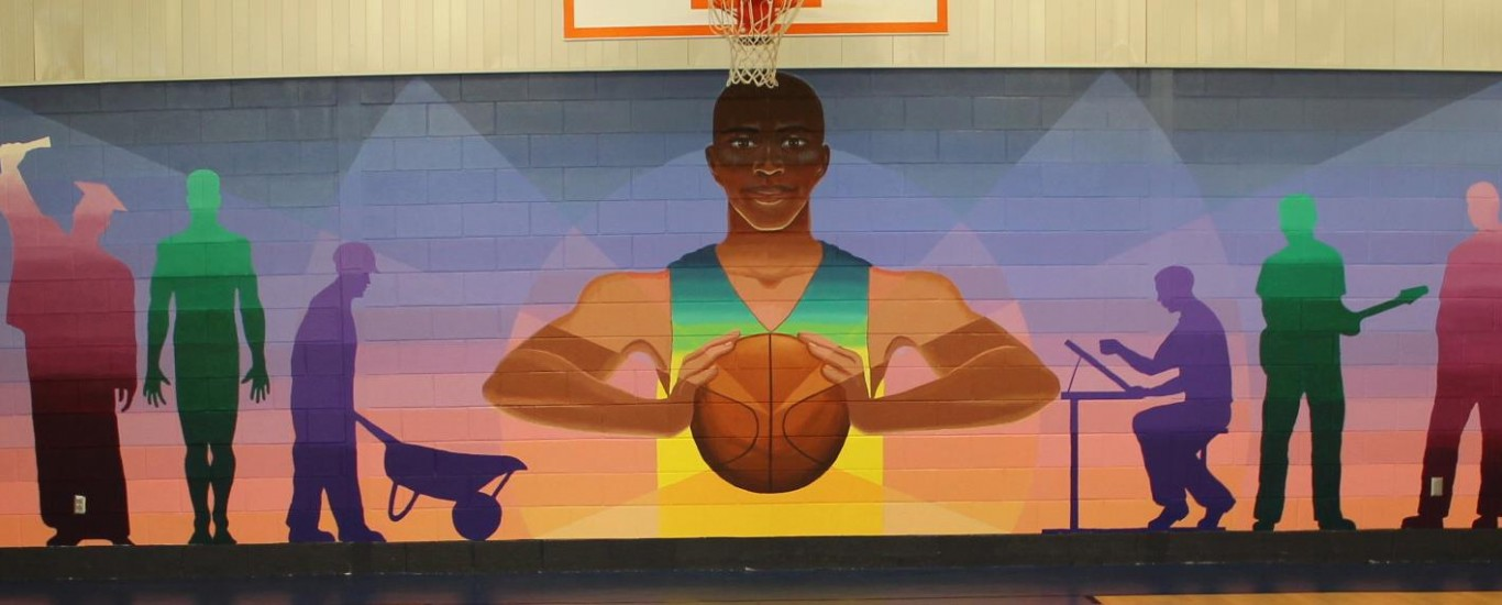 Atlanta Youth Development Center Mural