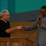emanuel with Superintendent Houston