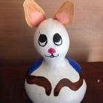 Rabbit gourd art