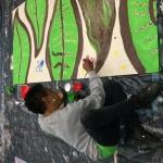 CJ ... our new artist friend paints a flower